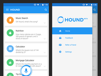 Hound Voice Assistant Android UIX