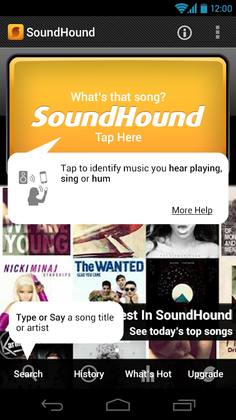 Seven / Projects / SoundHound | Dribbble