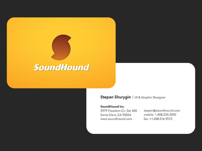 SoundHound Business Cards