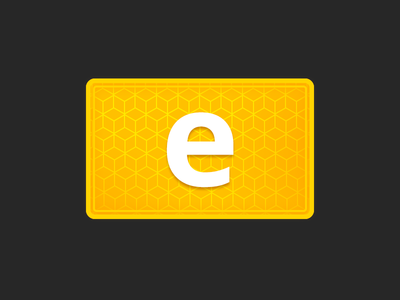 ePay Clover App Icon icon clover buy sell order bill shiny gold online electronic epayment epay