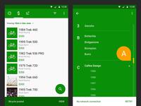 Sprocket Android 1.4.05 Snackbars