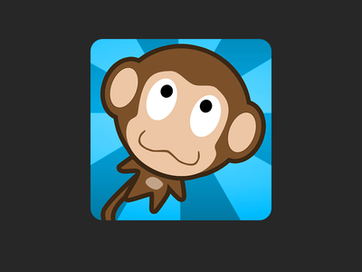 Blast Monkeys Forever Android App Icon sequel forever success icon ui android cannon banana monkey monkeys blast yobonja