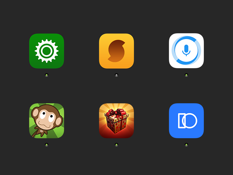 6 Most Known iOS App Icons iphone icons ui ios application branding brand app icon graphic design graphic design
