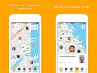 Flare iOS 1.0 App Store Screenshots