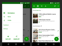 Sprocket Android 1.4.25 Nav UX
