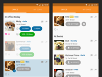 Office Dog Walker App Selection