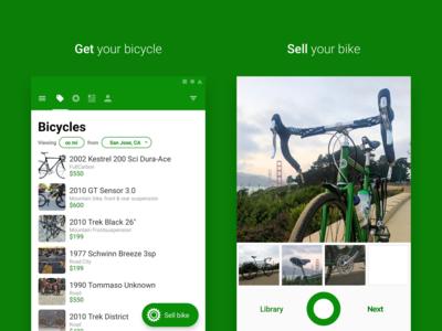 Sprocket Android Dark Green Background Screenshot Experiment