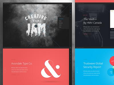 New BBG Concept website branding bright bright great interface design alex sheyn