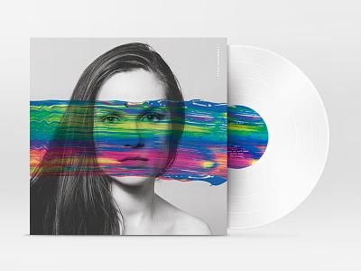 Album Artwork—Jennifer Hall  album cover album artwork vinyl music color black and white photography art direction alex sheyn jennifer hall portrait