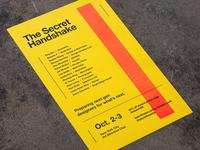 The Secret Handshake Poster