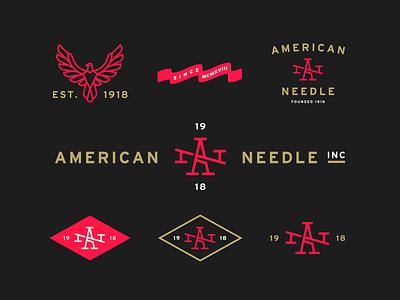 A—N alex sheyn flag red gold diamond apparel american branding brand monogram bird eagle