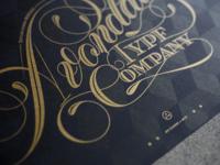Avondale Type Co Risograph