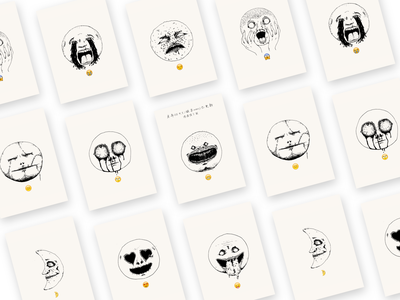 paranormal emoji supernatural emoji illustration paranormal