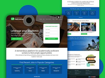 Freelancing website UI UX design web design website design ux design uxdesign ui design ui  ux design