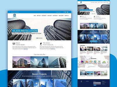 Real estate services website website design web design ui design realestate