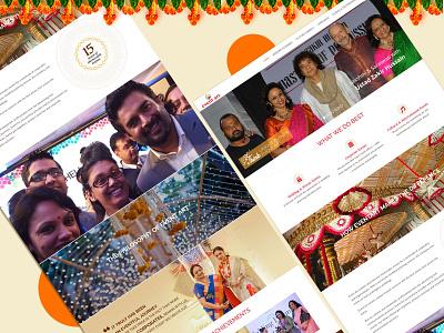 Web design for Event Management website design web design ui design ux design
