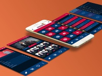 Mobile app design for NOS