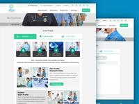 Medical Healthcare UI Design