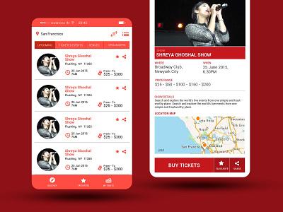 Event booking Mobile app UI design mobile app design mobile design mobile app mobile ui user experience user interface ui ux uiux ui