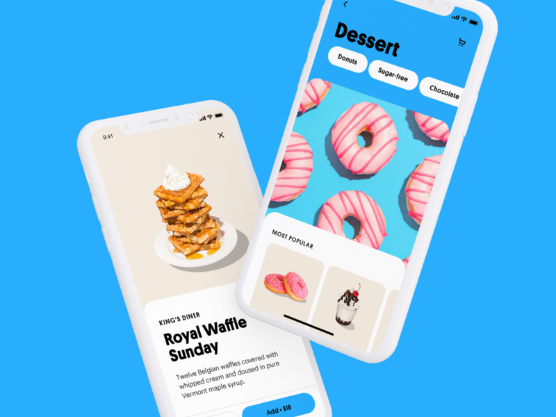 Funday App 4 ux ui products minimal product delivery delivery app app ui app