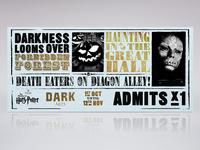 Warner Bro's Studio Tour - Dark Arts Ticket Concept