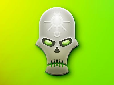 Necrons games workshop skeleton skull dice wargaming miniatures warhammer