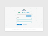 Smart Portal - Travel Management Dashboard Concept