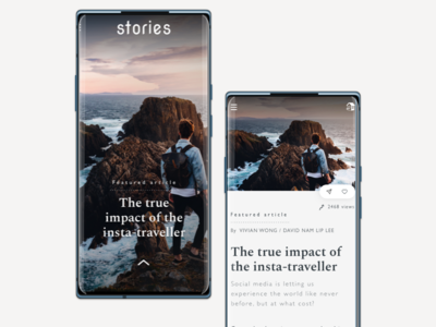 Stories - a reading concept