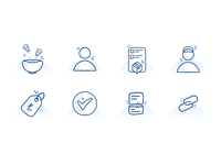 Hand Drawing Icons for Dashboard