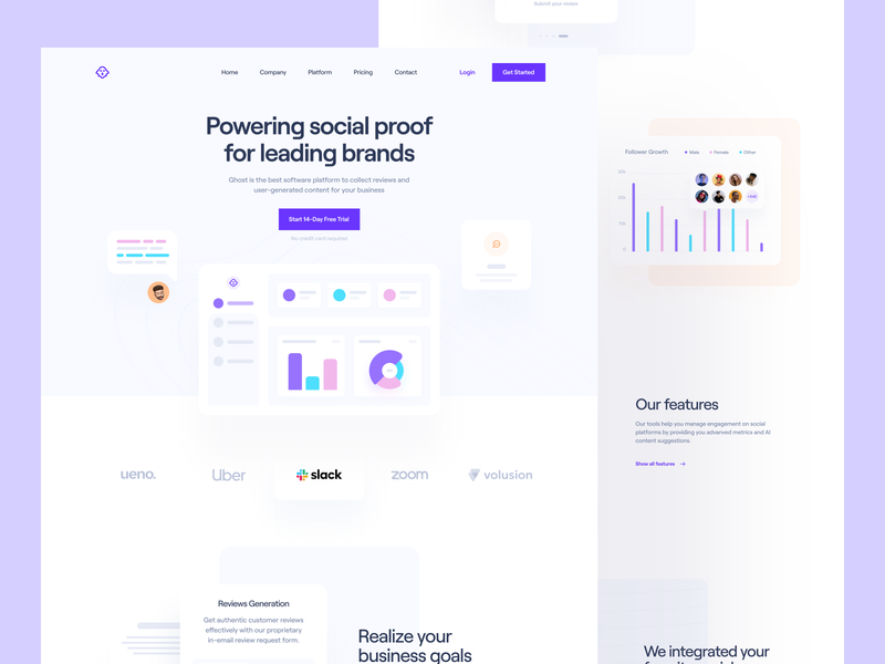 SaaS: Landing Page product page hero feature set saas template template dashboard design social media landing page dashboard saas website startup landing page saas landing page landing saas