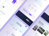 SaaS: Landing Page All Pages