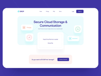 File Transfer Landing Page: Animation