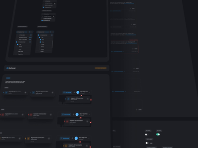Dark Mode Components: BlueReceipt component library dashboard template dashboard tooltip text editor toggle switch library dark ui dark theme buttons date picker dropdown design system components dark components dark mode bluereceipt