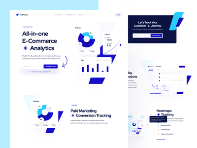 Landing Page: FullPicture dashboard design dashboard ui analytics ui dashboard landing page saas landing page analytics app e-commerce app saas marketing dashboard analytics dashboard analytics chart analytic hero landing hero landing page design landing page ui landing dashboard app