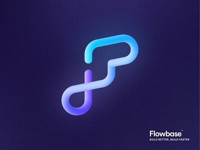 Branding: Flowbase.co brandbook branding and identity sticker sticker design t-shirt design stickers visual identity templates webflow base logo flow logo f letter logo f logo galaxy logo logo brand identity flowbase branding