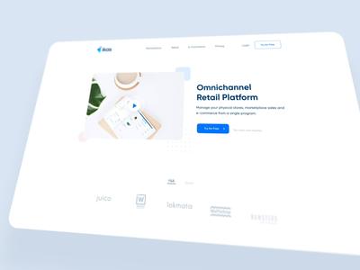 ikas Homepage - UI /UX