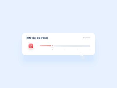 Rating Experince animation dashboard app design design ride illustration ux ui web app slider rating rate app