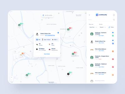 Dashboard Map View - Detail