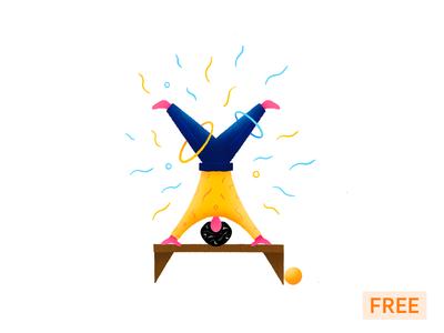 Freebie Illustration