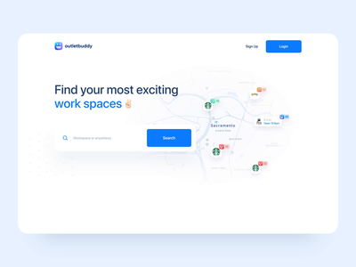 Landing Page for Web App - UI Animation