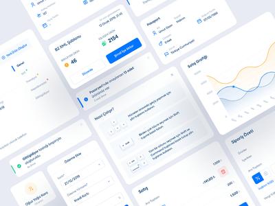 Card UI - Dashboard