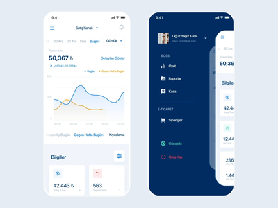 Tracking App - Animate - ikas