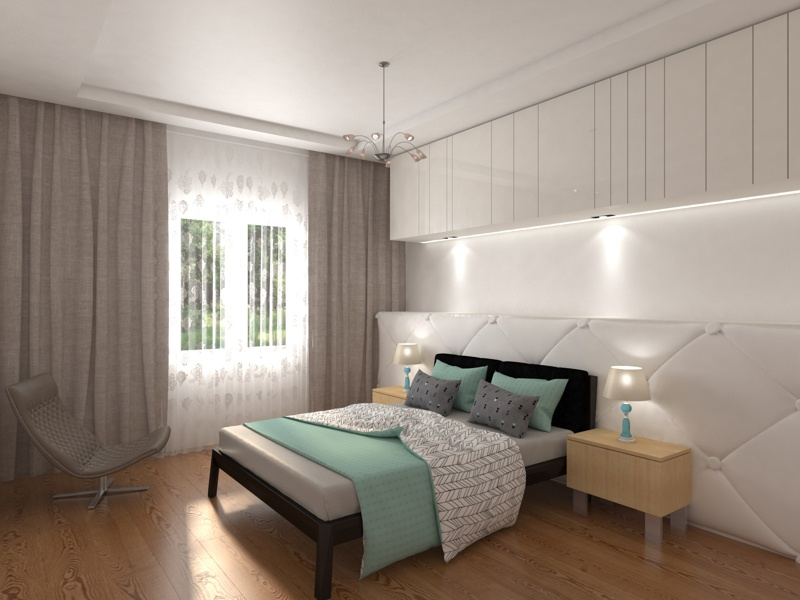 Bedroom Render In 3ds Max With Vray By Chirag Panchal Dribbble