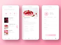Baker Cooking UI/UX App