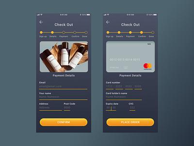 Daily UI - 002 - Credit Card Checkout dailyui 002 ux ui figma dailyui dailychallenge