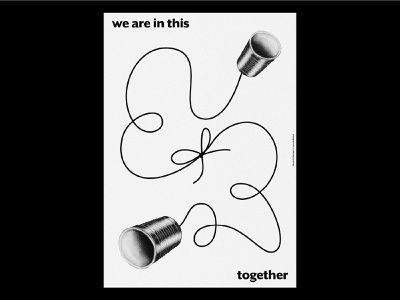 We are in this together editorial design editorial covid-19 covid19 italian graphic design graphicdesign graphic graphics exibition postcard poster design poster art poster posters