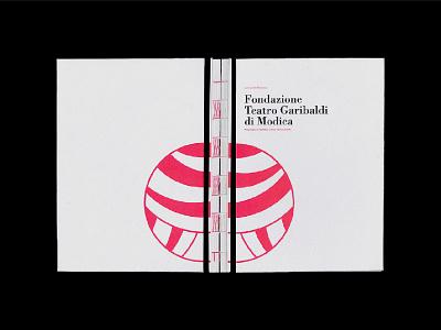 Fondazione Teatro Garibaldi di Modica - Proposta branding logo identity dribbble editorial brand editorial art editorial design editor graphic  design graphic design graphics graphic graphicdesign