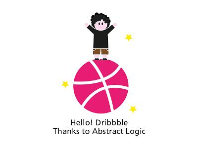 Hello! Dribbble me minimal dribbble shot hello