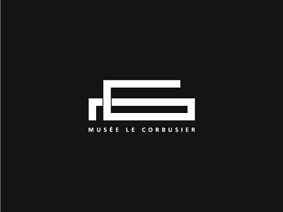 Musée Le Corbusier - Brand Identity savoye villa identity visual corporate brand musée corbusier le