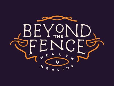 Beyond the Fence 1 logo sketch illustration health healing hand drawn
